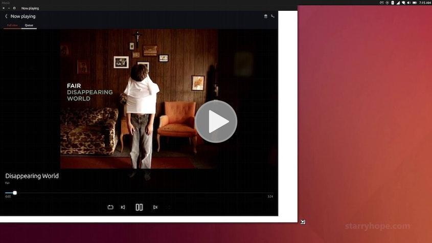 Ubuntu Unity 8 Desktop Convergence (Nexus 4 - OTA-9)