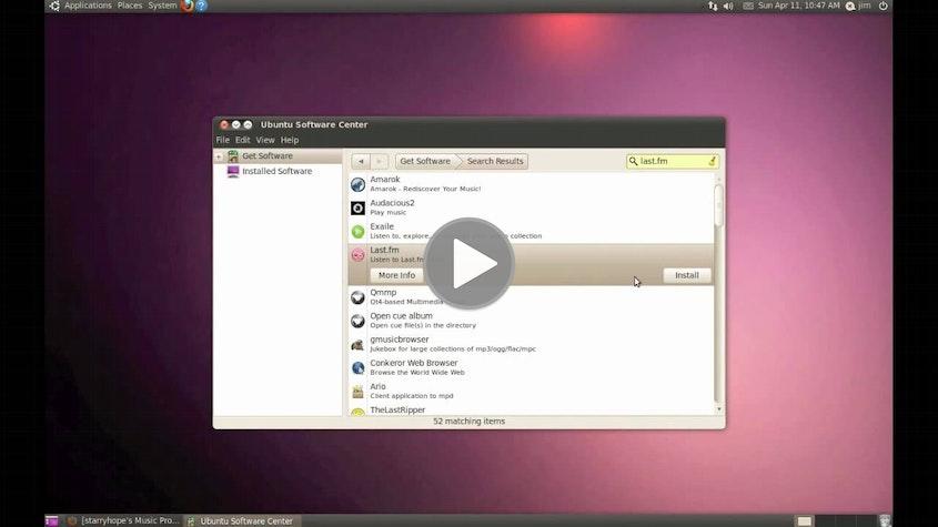 Last.fm in Ubuntu 10.04